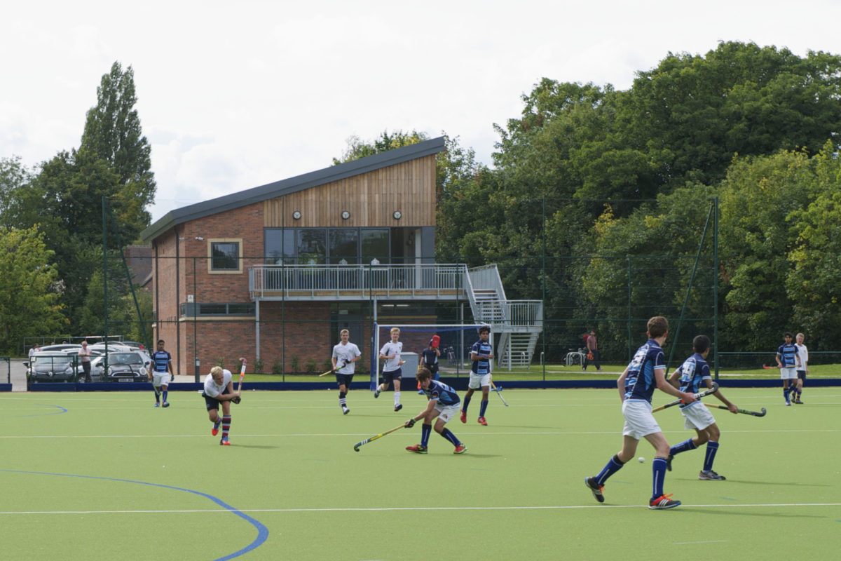 Hockey pavilion