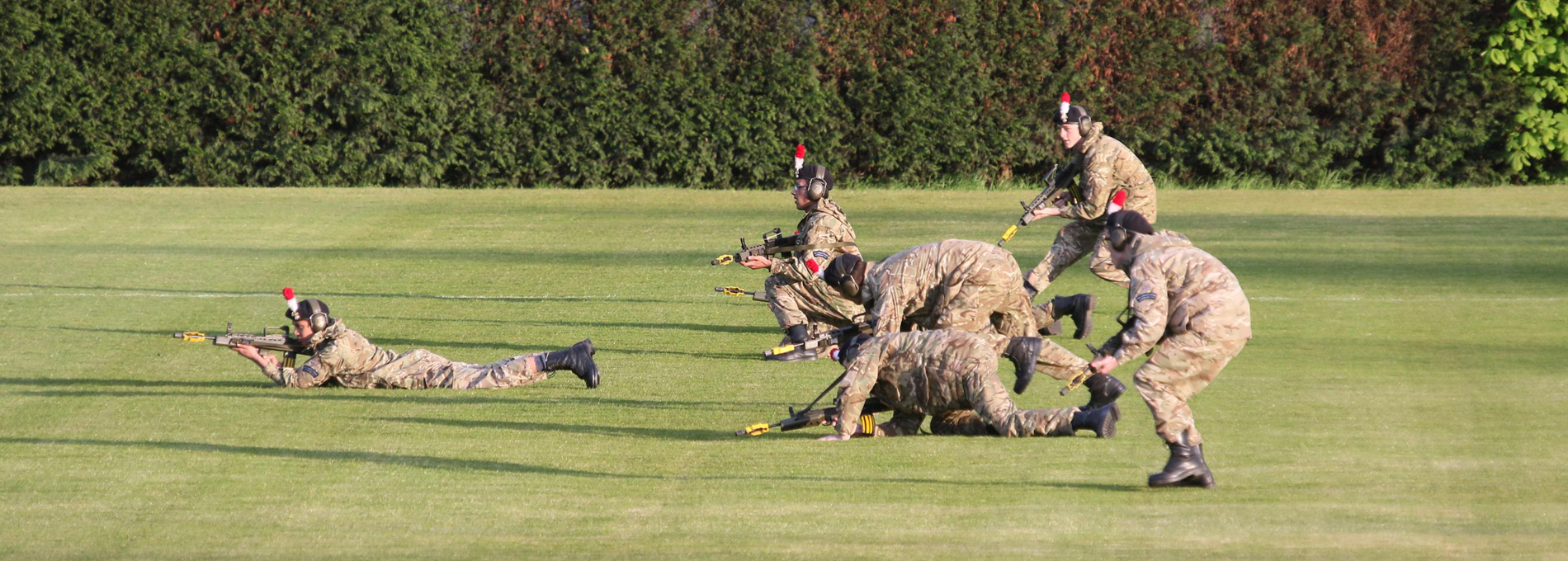 Extra curricular combined cadet force_army