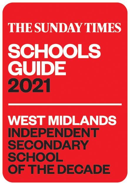 West Midlands Independent secondary school of the decade 2021